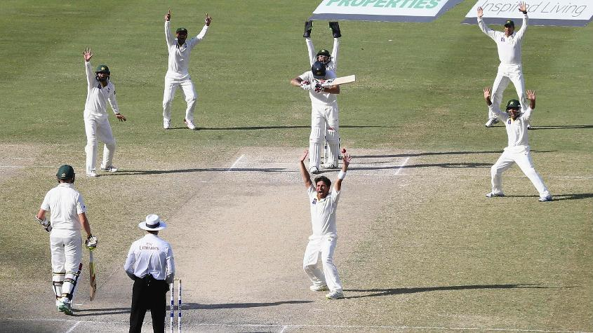 Yasir Shah picked up 12 wickets in two Tests when Australia toured the UAE in 2014
