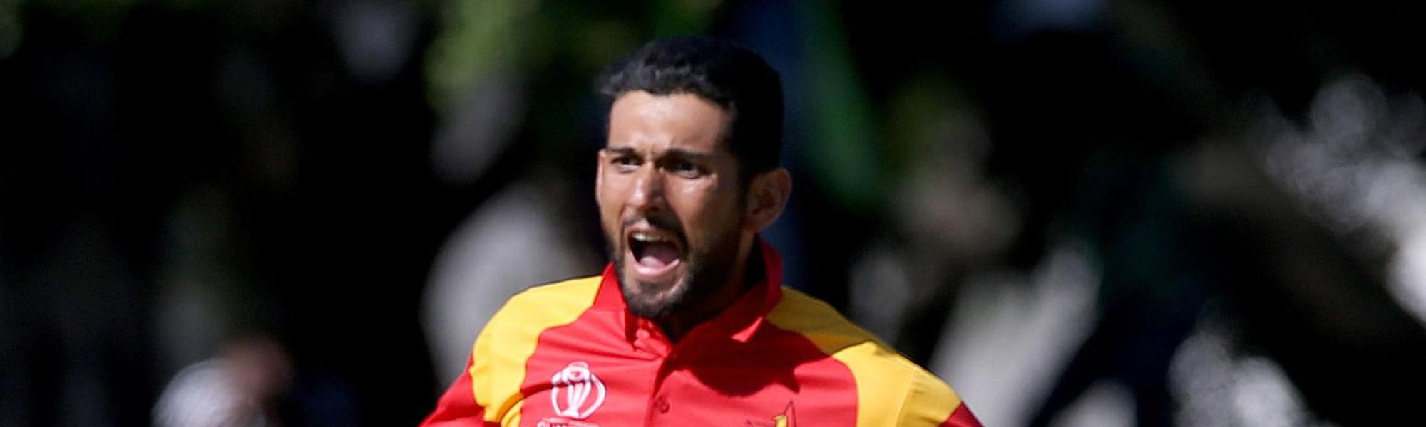 Sikandar Raza picked up key wickets to return 3/41