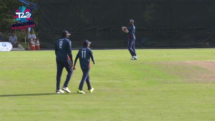 ICC World Twenty20 Americas Qualifier A: Canada v USA – USA fielder takes an easy catch