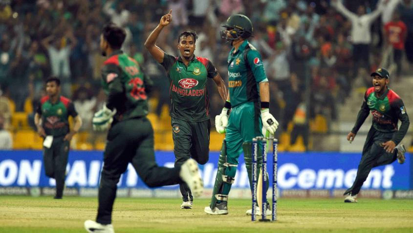 The loss to Bangladesh knocked Pakistan out of the Asia Cup