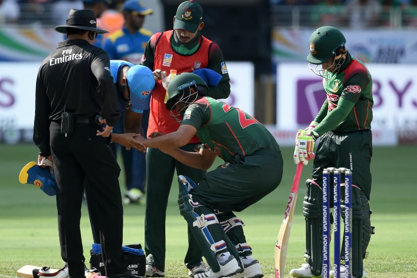 Tamim Iqbal was ruled out of the tournament after he fractured his left wrist during the opening game against Sri Lanka