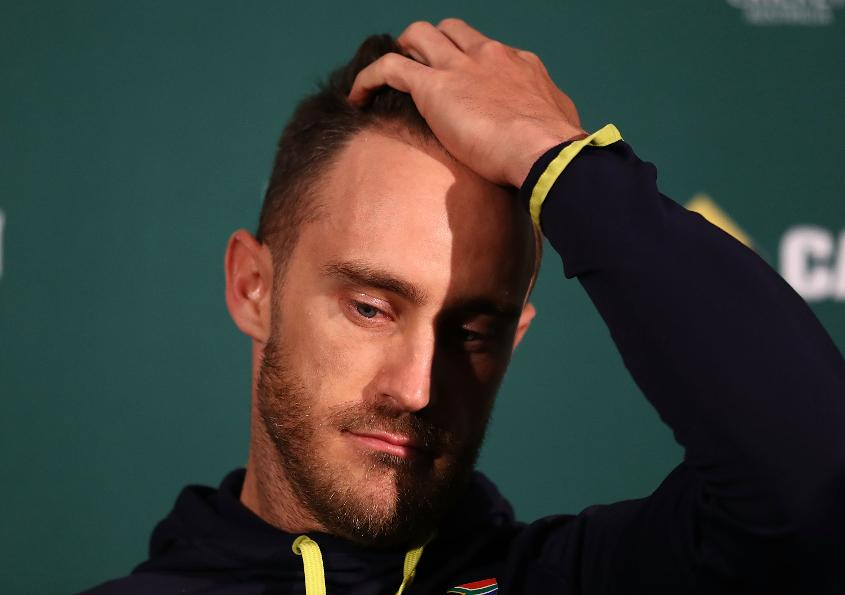 Regular captain Faf du Plessis will miss the series with injury