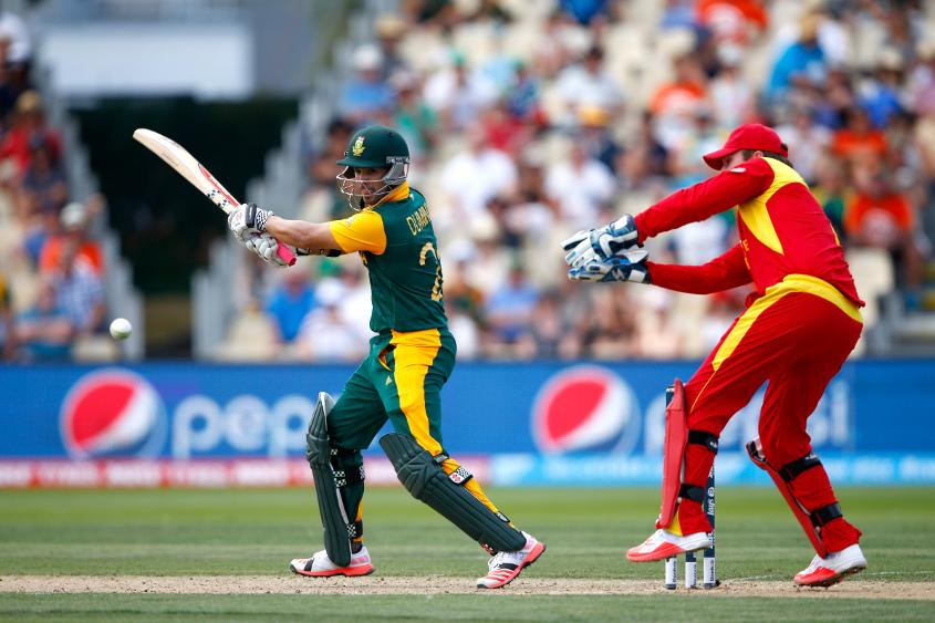 Duminy made 115 against Zimbabwe in the Cricket World Cup 2015