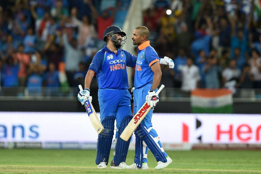 With consistent performances in the Asia Cup, Sharma and Dhawan have joined Kohli in the top five rankings for ODI batsmen