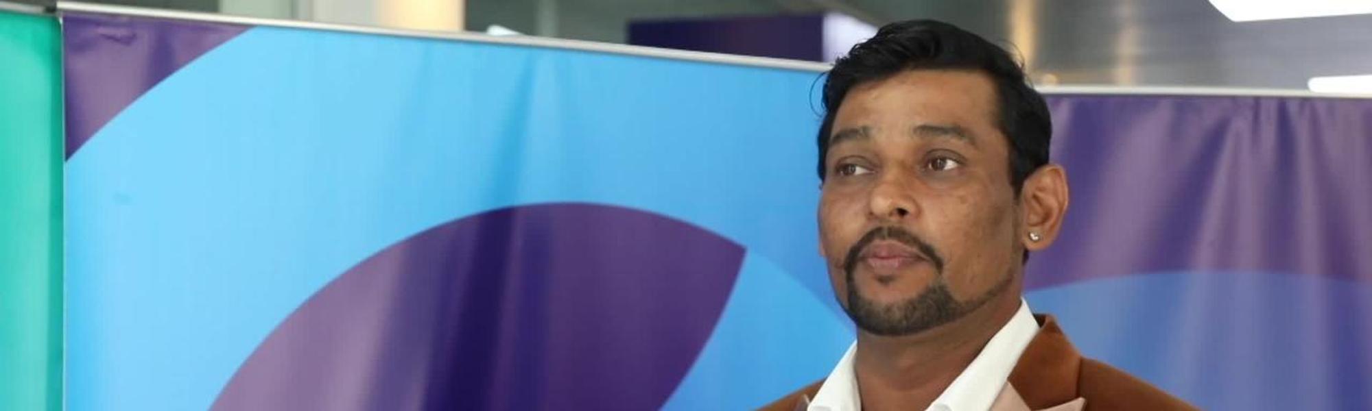 Former Sri Lanka star Tillakaratne Dilshan showed up for the CWC Nissan Trophy Tour