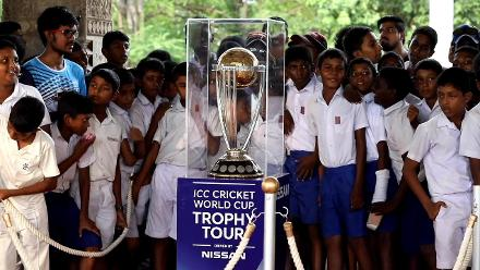 CWC Trophy Tour: Sri Lanka – Herath, Dickwella, Malinga join the party