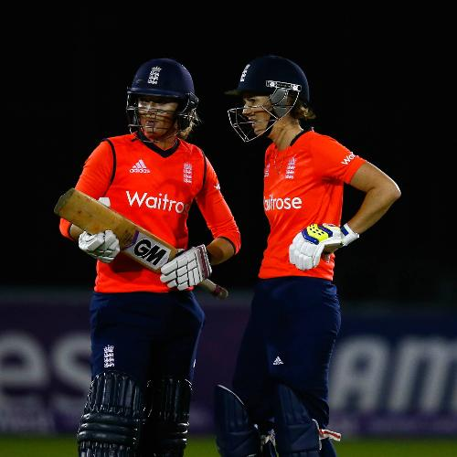 22 – Partnerships shared between Charlotte Edwards and Sarah Taylor