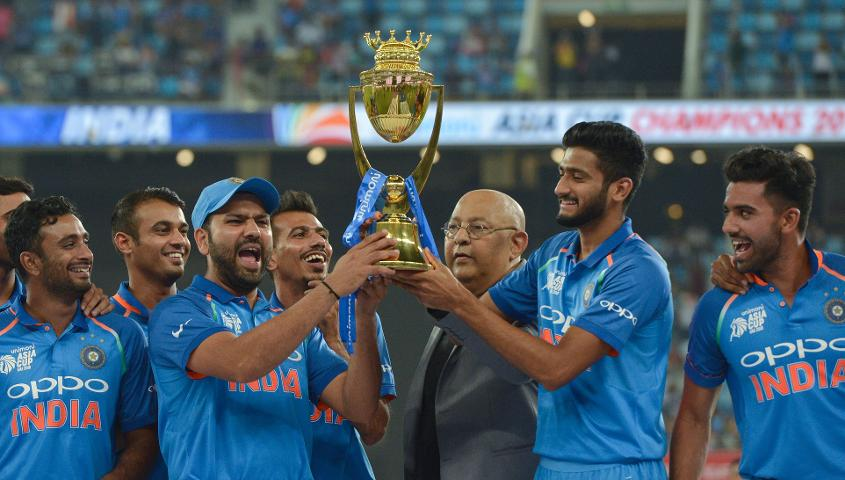 India triumphed in the 2018 Asia Cup
