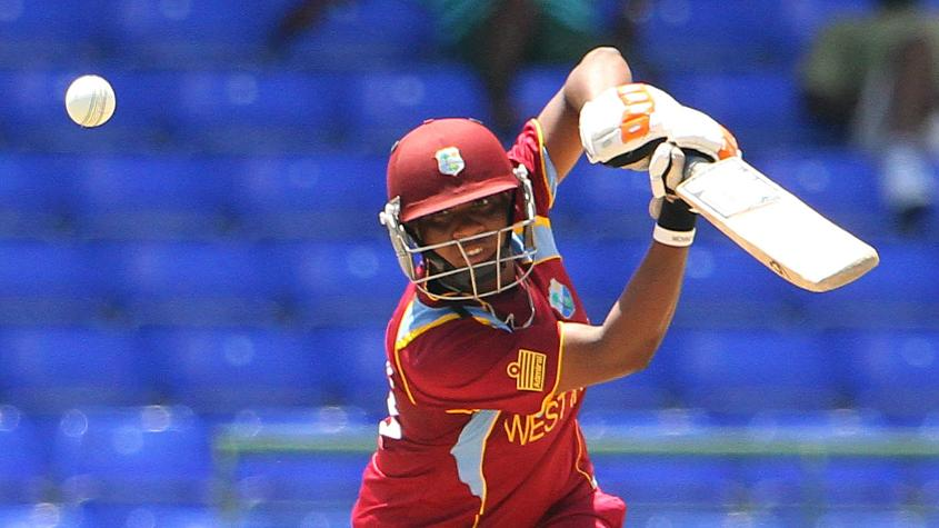 McLean kept the Windies innings together with an unbeaten 57