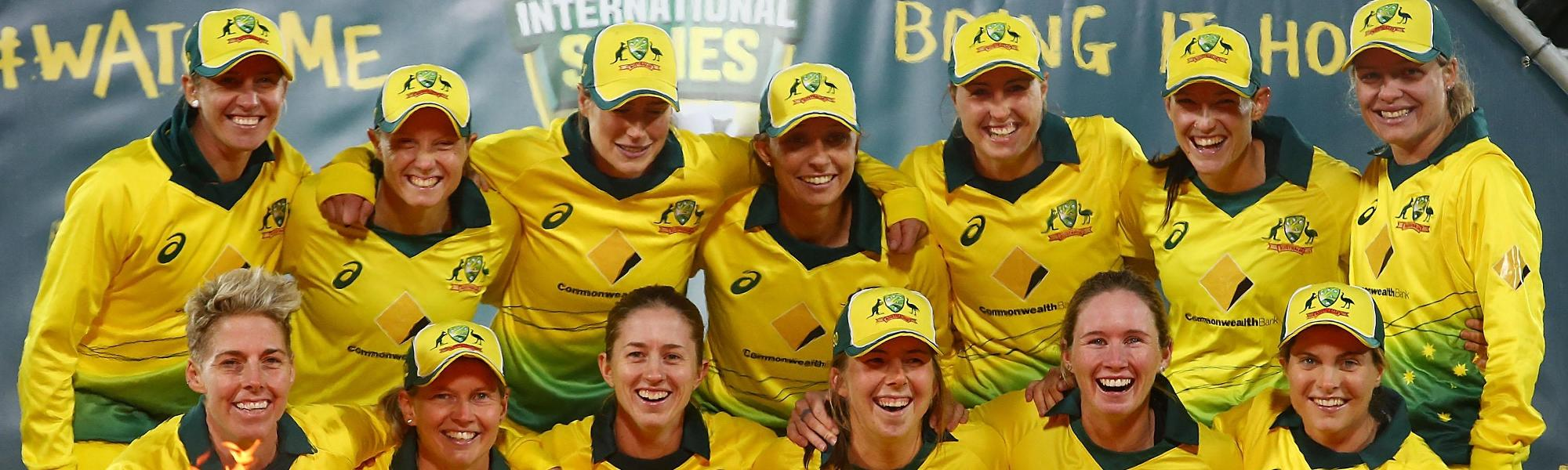 Australia women completed a 3-0 sweep over the visitors