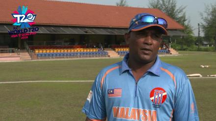 ICC World Twenty20 Asia Region Qualifier B: Malaysia v Nepal – Sampath Perera pre-match interview