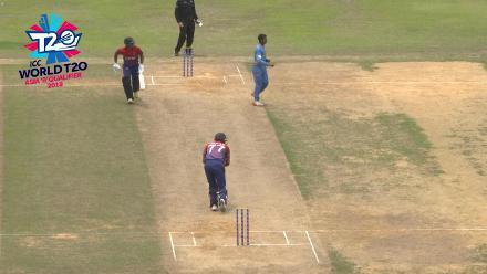 ICC World Twenty20 Asia Region Qualifier B: Nepal captain Paras Khadka hits a half-century against Malaysia