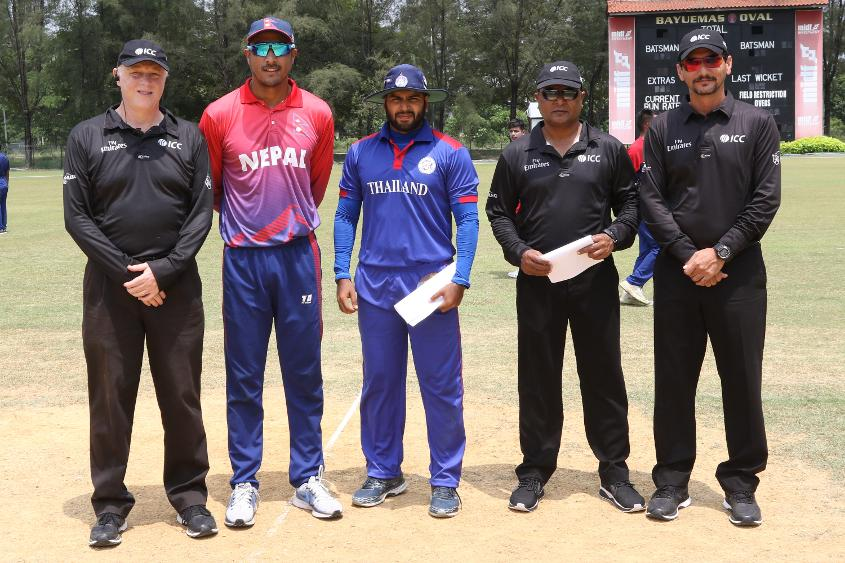 Nepal carried on their good form with a convincing win over Thailand