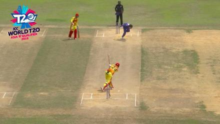 ICC World Twenty20 Asia Region Qualifier B: Bhutan v Thailand – Highlights