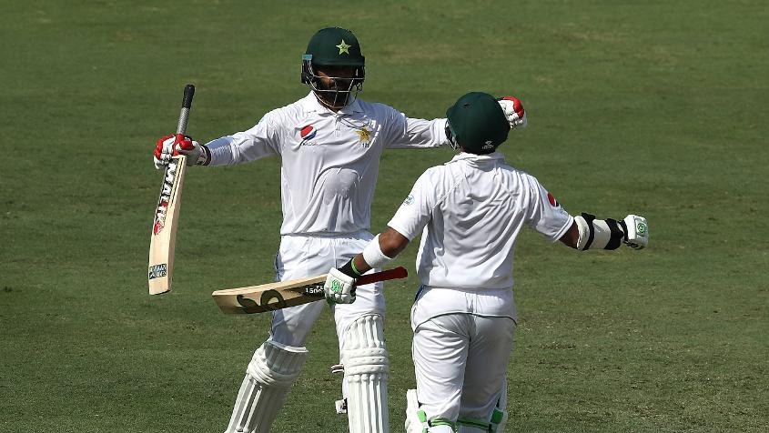 Pakistan's colossal opening stand was worth 205 runs