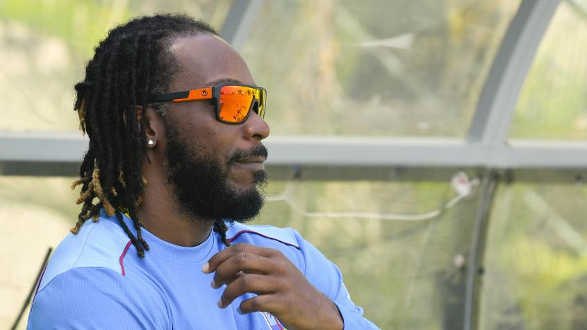 Chris Gayle has made himself unavailable for selection for the moment