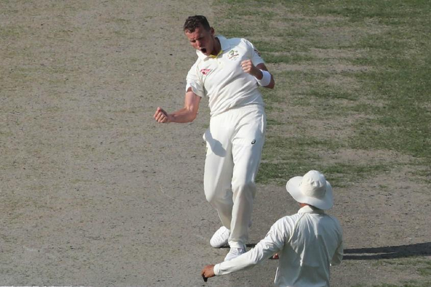 Peter Siddle was Australia's star bowler, finishing with figures of 3/58