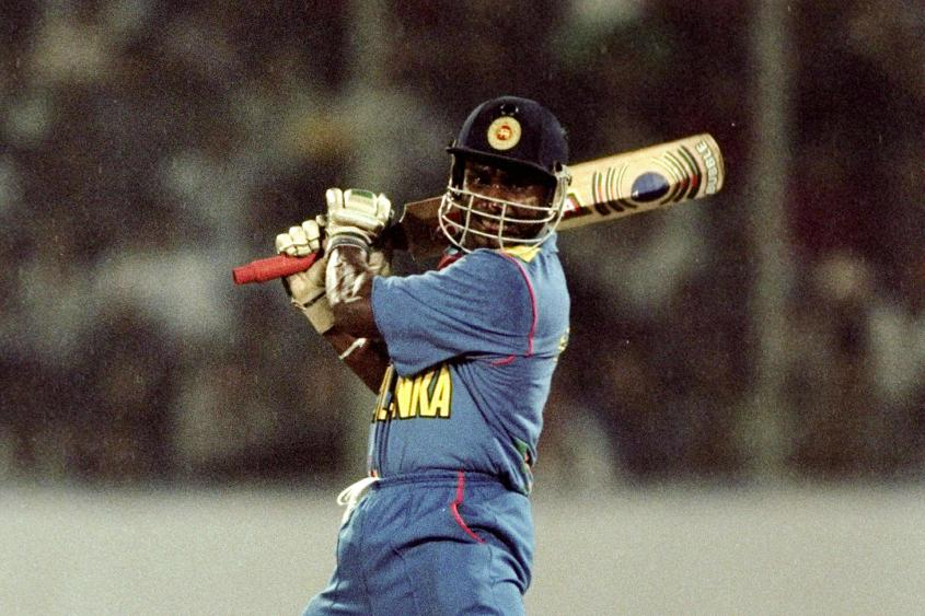 Sanath Jayasuriya's 84 off 44 balls innings featured 13 fours and three sixes