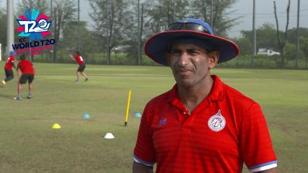 ICC World T20 Asia Region Qualifier B: Singapore v Thailand – pre-game interview with Thailand coach Nuwan Siroman