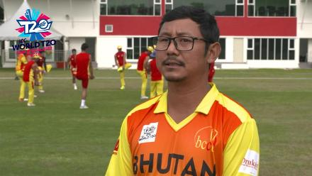 ICC World T20 Asia Region Qualifier B: Singapore v Bhutan – pre-game interview with Bhutan Head Coach
