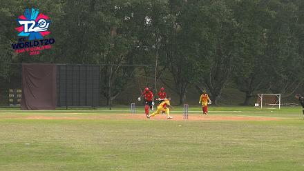 ICC World T20 Asia Region Qualifier B: Bhutan's Tobden Singye takes 4/23 and a run out against Singapore