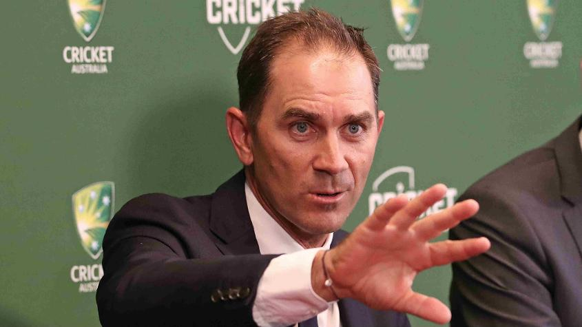 Justin Langer has taken over as Australia's chief coach after Lehmann's resignation