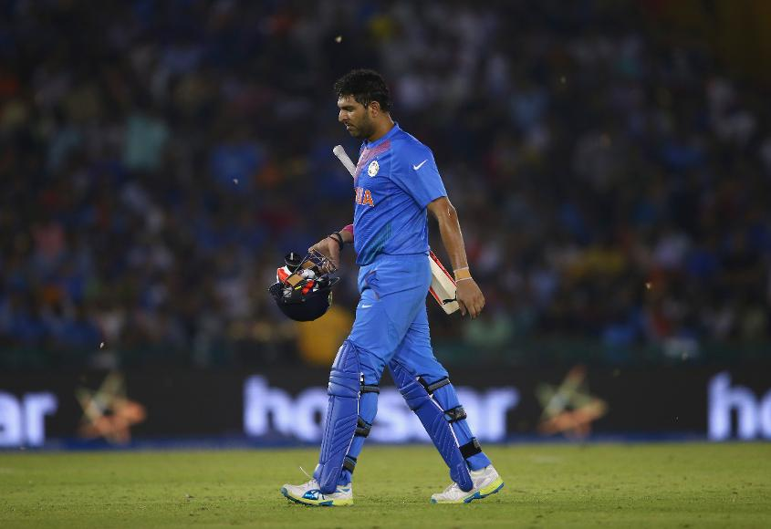 Yuvraj Singh has endured tough times in his career