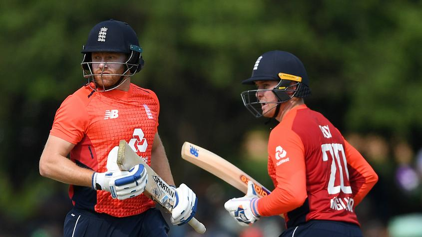 Bairstow and Roy added 49 for the first wicket in the rain-hit first ODI