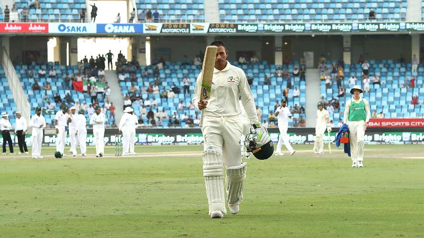 Khawaja batted for close to nine hours in scoring his match-saving 141