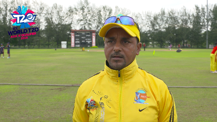 ICC World T20 Asia Region Qualifier B: Interview with Myanmar coach Ashfaqul Islam before game against Bhutan