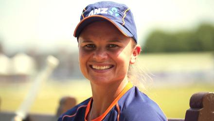 Round the wicket: Suzie Bates
