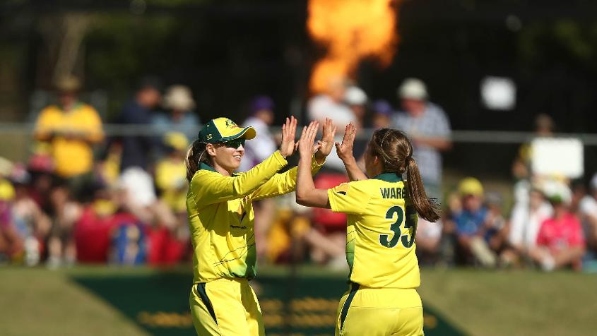 Wareham has picked up two wickets in her three T20I appearances so far