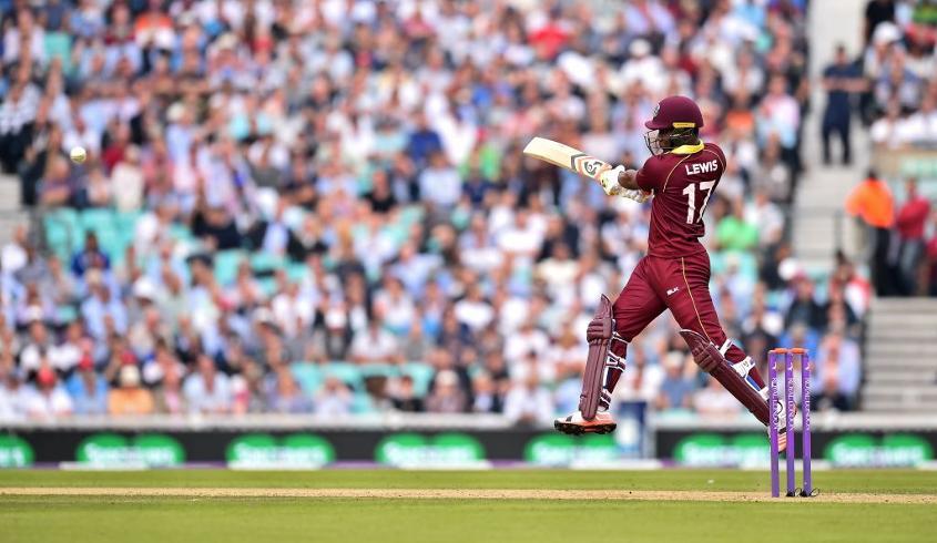 Lewis has scored four international hundreds