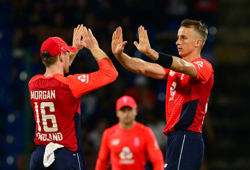 Tom Curran did a fine job with the ball for his captain