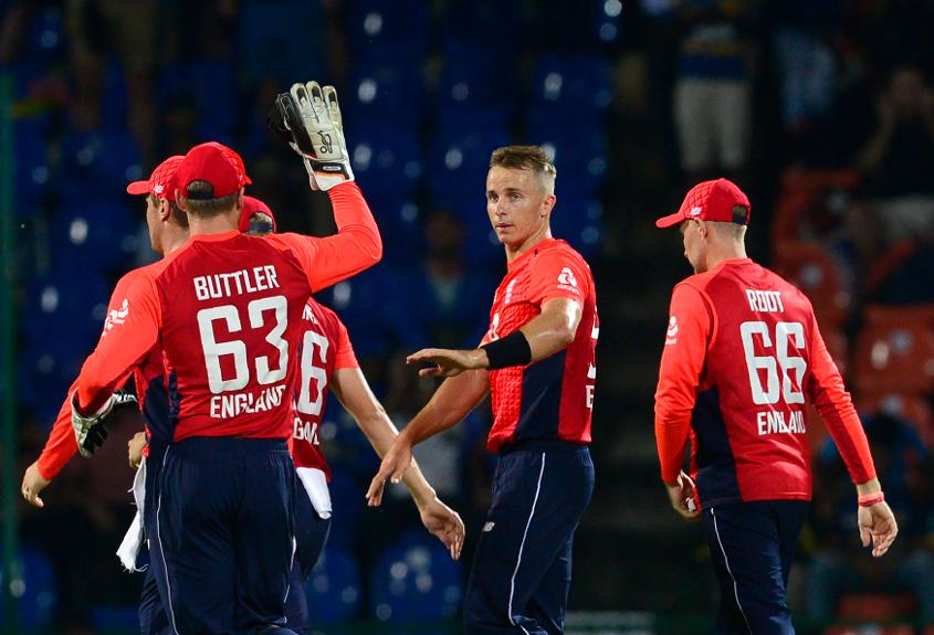 Tom Curran took 3/17 in his first ODI of the tour