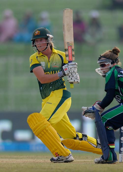 18 – Fours hit by Meg Lanning in her career-best 126