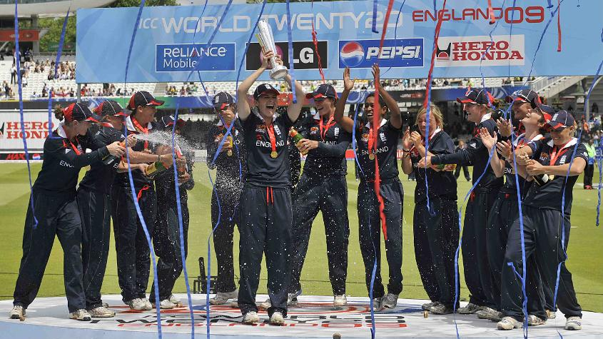 England are the only team to win the ICC Women's World T20 title at home – in 2009