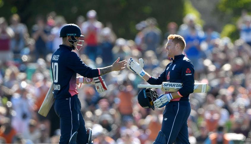 Together with Jason Roy, Jonny Bairstow and Alex Hales are directly competing for a top-order spot in England's ODI side