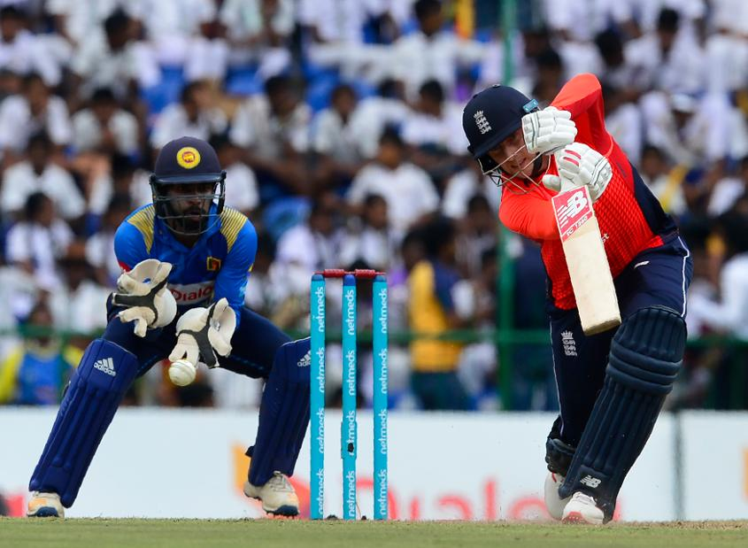 Joe Root had a stroke of luck thanks to Sri Lanka's sloppiness in the field