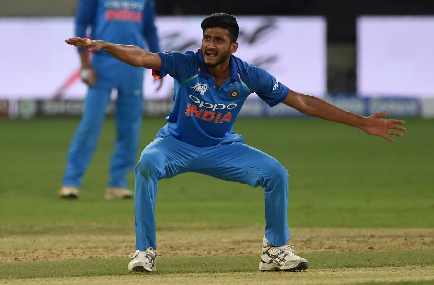 Left-arm seamer Khaleel Ahmed offers Kohli a different angle of attack