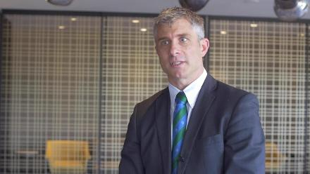 ICC General Manager – Development William Glenwright speaks after the ICC meetings in Singapore