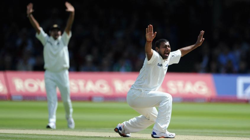 Kumar got on the Honours Board at Lord's after picking up 5/106 during the 2011 tour