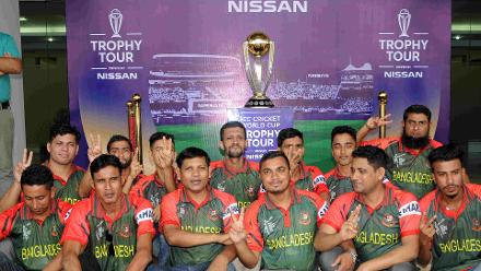 ICC Cricket World Cup 2019 Trophy Tour – Dhaka and Sylhet, Bangladesh