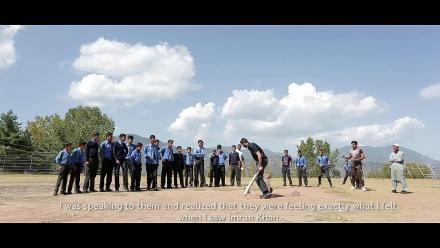 #CWCTrophyTour in Pakistan – Junaid Khan