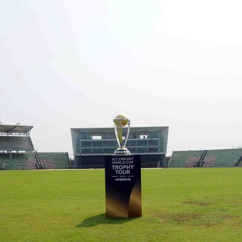 At the Sylhet International Stadium
