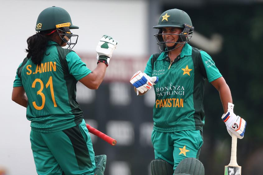 Pakistan couldn't capitalise on a solid start