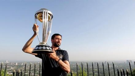 CWC Trophy Tour – Junaid Khan