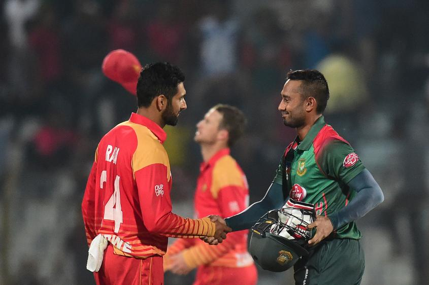 Sikander Raza claimed three-for, but Bangladesh claimed the honours