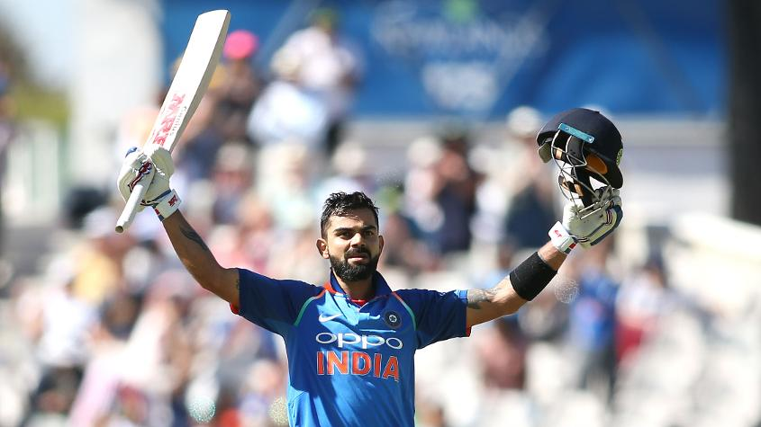 Kohli Cape Town - King Kohli reigns supreme at ICC Awards