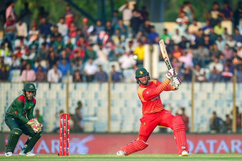 Brendan Taylor made an attractive 75